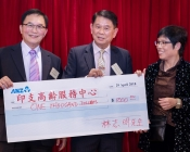 Cheque Presentation from Mr. Chi Ming Lam